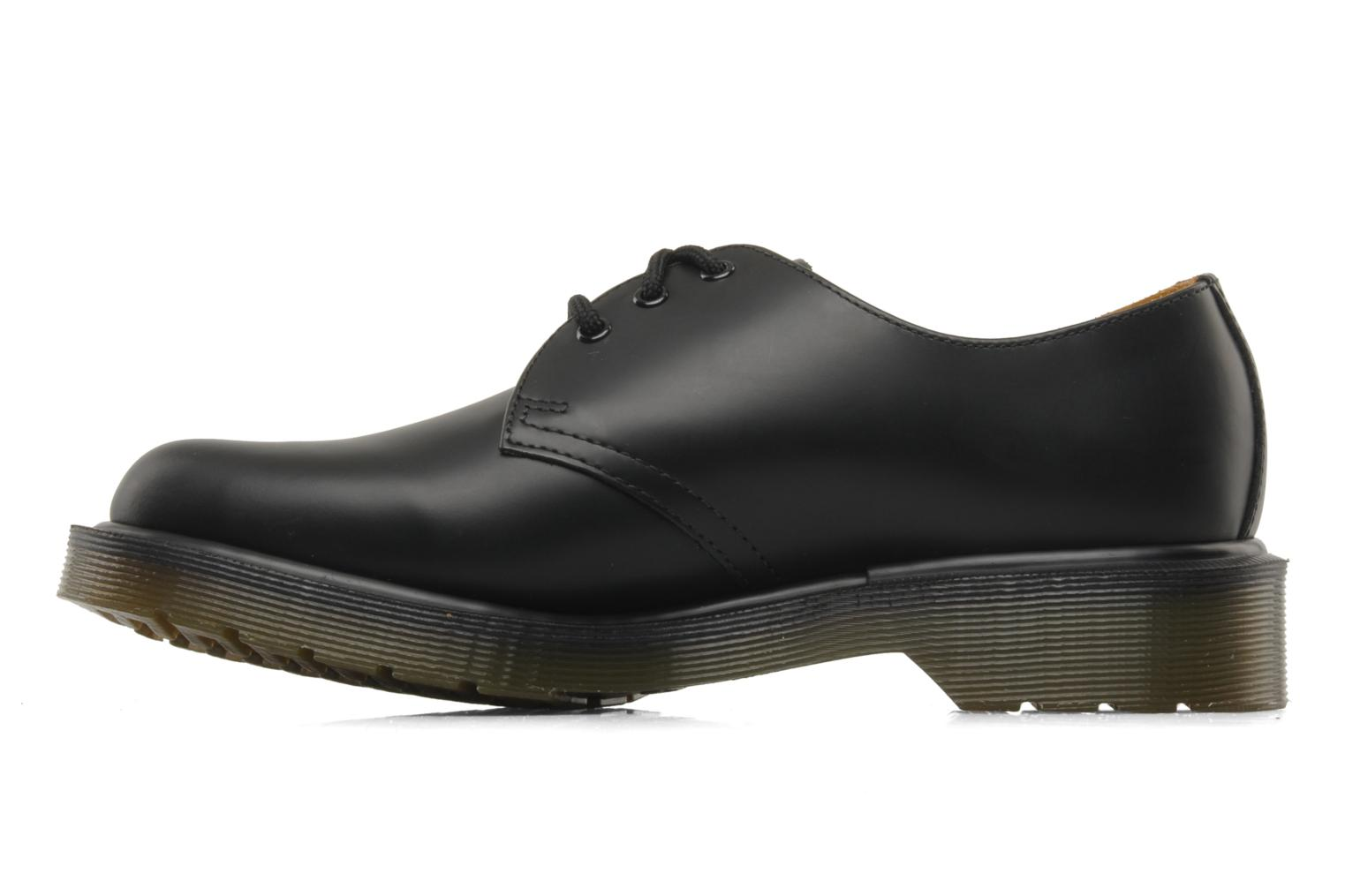 Lace-up shoes DR. Martens 1461 w Black front view